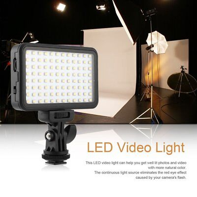 PAD96 Camera Video LED Light 6000K Dimmable Fill Light Continuous Light Panel ES