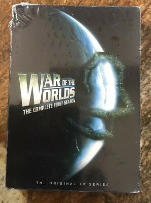 War of the Worlds: Complete First Season DVD 6 discs-Sci-fi TV Series