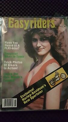 Easyrider Magazine Lot Of (2) 1982 Bagged With Free Shipping.