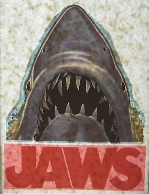 The Official Original Vintage 1975 Jaws Movie Iron-On T-Shirt Heat Transfer Rare