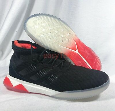 99fa85bb7a0d5 New Adidas Predator Tango 18.1 Sz 9.5 Men s Boost NMD Black CP9268 Trainer  Red