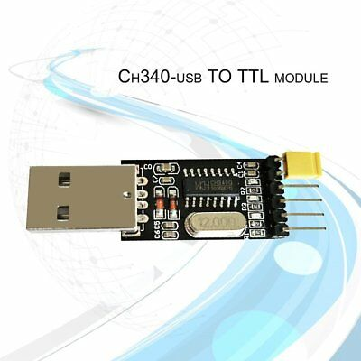 USB to TTL Module CH340 Serial Converter Module Chip 5/3.3V Windows Server HKES
