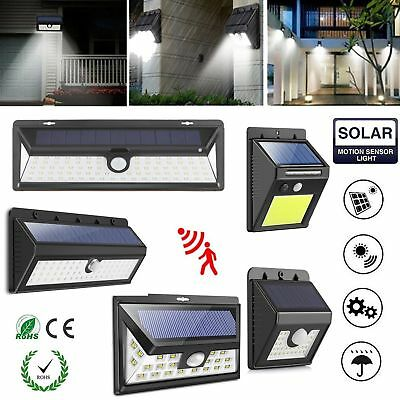 Solar Powered 54/24LED Motion Sensor Super Bright Security Light Outdoor Lamp