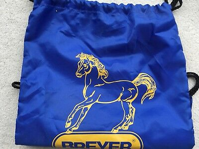 Breyer Horse Accessory Blue Drawstring Bag Backpack Ethereal Tote Clothing