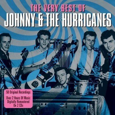 Johnny & The Hurricanes ~ The Very Best Of / Greatest Hits Instrumental NEW 2CD