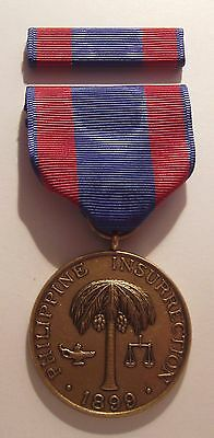 1899 Army Philippine Insurrection Medal with RIBBON