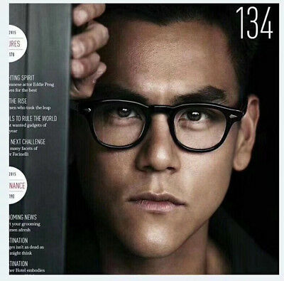 edef82eeca Johnn depp Vintage Leopard Eyeglass frames Full-rim Glasses Eyewear Women  Men
