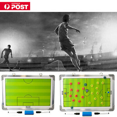 LARGE Magnetic Coaching Training Board Tactical Tactic Soccer Football Board Set