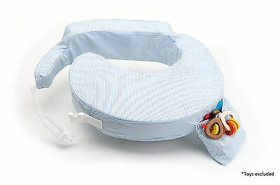 My Brest Friend Pillow  BLUE STRIPE - Feeding and nursing pillow GENUINE,,<>>