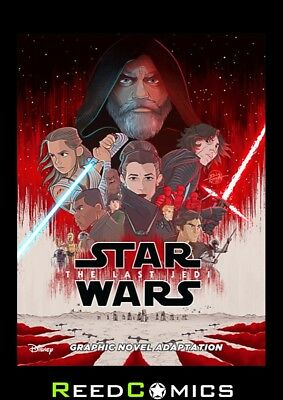STAR WARS THE LAST JEDI ADAPTATION GRAPHIC NOVEL IDW EDITION Paperback