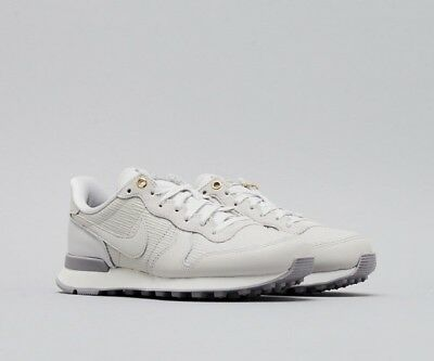 PRM Grau NIKE Grey White SCHUHE Vast INTERNATIONALIST Wmns I29EDHW