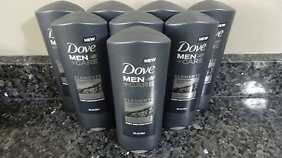 8 Dove Men Care Elements Charcoal Clay Micro Moisture Body And Face Wash New 48 75 Picclick