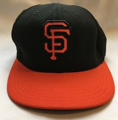 timeless design e53f3 dbc4c New Era San Francisco SF Giants GAME 59Fifty Fitted Hat (Black) MLB Cap 7