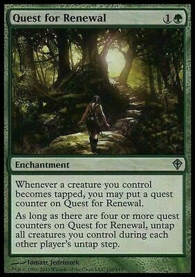Quest for Renewal ~ NearMint ~ Magic The Gathering