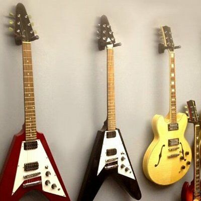 Guitar Hanger Stand Holder Wall Mount Display Acoustic Electric GuitarBR