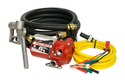 Fill-Rite RD812NH 8 GPM 12V DC Portable Fuel Transfer Pump with Nozzle and Hose