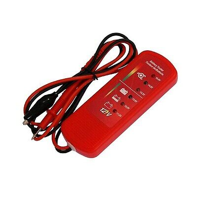 12V Car Battery & Alternator Charging Voltage Level Tester Easy LED Indicators
