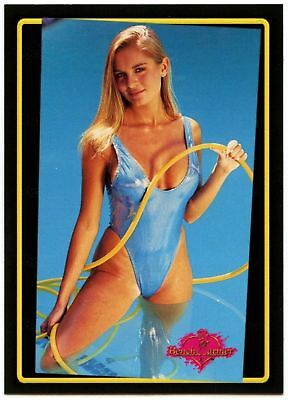 C1505 Rebecca Ferratti #179 Bench Warmer Series 2 1994 Model Trade Card