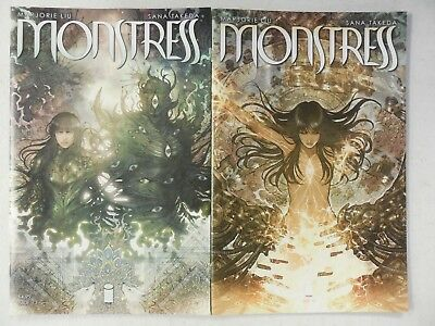 2x MONSTRESS # 13 & 14 Comic ~ IMAGE ~ 1ST PRINT ~ Marjorie Liu ~ NM/UNREAD