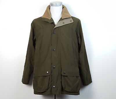 Barbour S Berwick Lightweight Waterproof Breathable Jacket Green Insulated T330