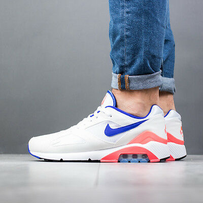 35c319846bc62c NIKE AIR MAX 180 OG  Ultramarine  UK 9.5 Sail Red 615287 100 ...