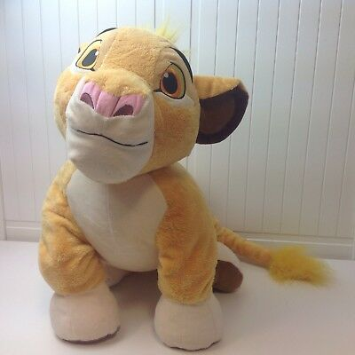 "Lion King Simba Extra Large Authentic Disney Store Soft Floppy Plush Toy 20"" S1"