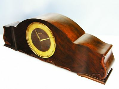 Beautiful Art Deco Westminster Chiming Mantel Clock From Junghans
