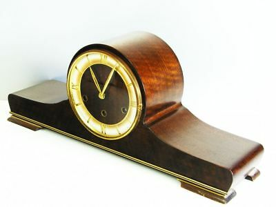 Beautiful Art Deco Westminster Chiming Mantel Clock From Mauthe