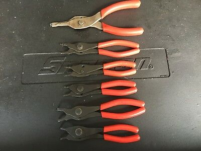Snap On 6pc Convertible Snap Ring Plier Set
