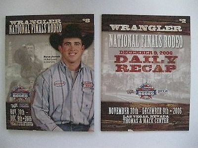 National Finals Rodeo 2006 Program And Daily Recap ( Lot of 2 )