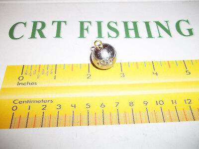50 100 NO ROLL SINKERS FISHING TACKLE 1 oz CHOOSE LOT QUANTITY25 200 500 PACK