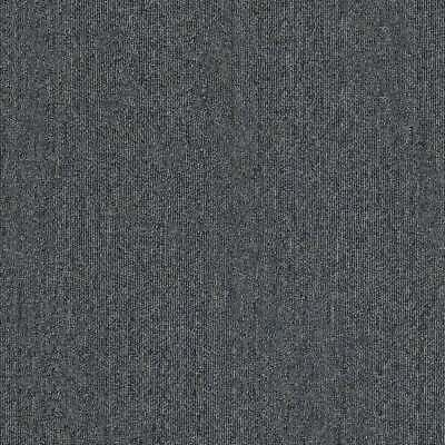 Premium Dark Grey Carpet Tiles 5m2 Box - Domestic Commercial Office Heavy Duty