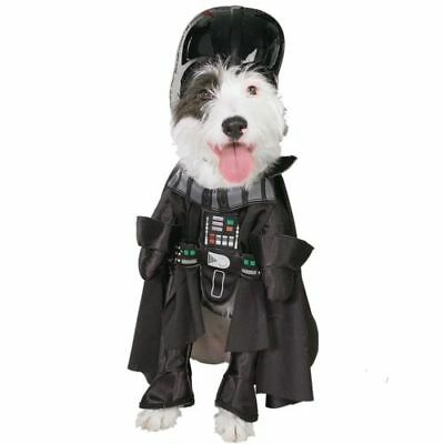 Darth Vader Star Wars DOG pet COSTUME Size LG Holiday Halloween by Rubies