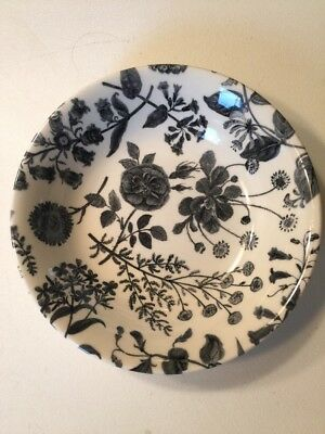 Royal Stafford Fine Earthenware 7 Inch Bowl Gray Floral Made In England MULTIPLE