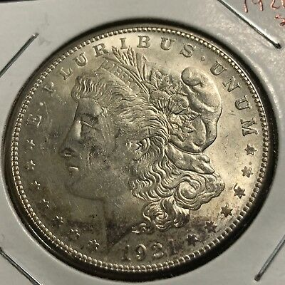 1921-S Morgan Silver Dollar Better Grade Coin