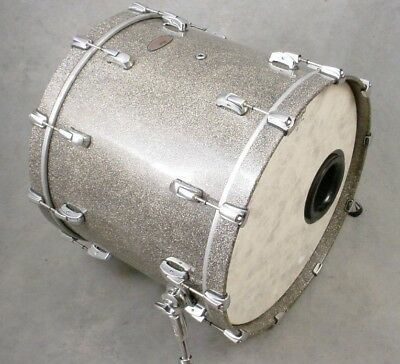 PEARL REFERENCE SERIES 18x22 GRANITE SPARKLE BASS DRUM, MINTY