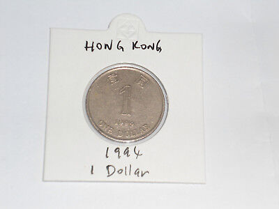 1994 Hong Kong 1 Dollar coin one dollar