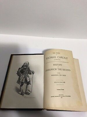 1897 History of Friedrich The Second Thomas Carlyle Versailles, War, Petersburg