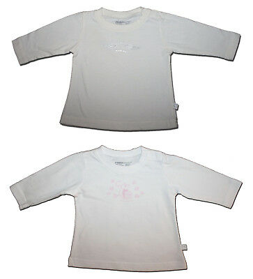 TWO Fred Bare Size 000 Long Sleeved T-Shirts ANGEL Wings & Squirrel