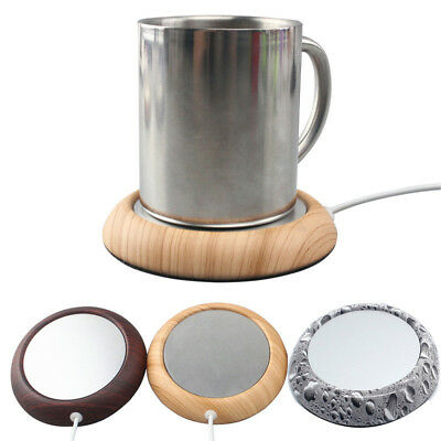 Usb Cup Mat Heater Insulation Coffee Tea Pad Coaster Heating Mug Power Hea Udww