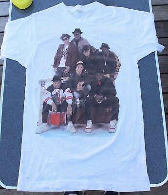 Rare Vintage 1987 Run DMC & Beastie Boys Together Forever T-Shirt M OG Promo