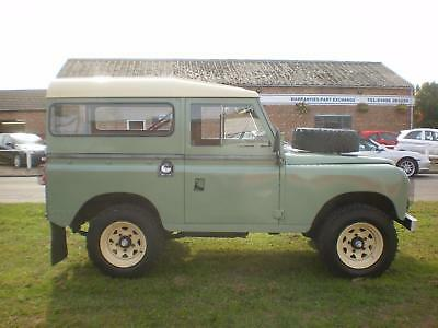 1972 L Land Rover 88 series 3 300tdi