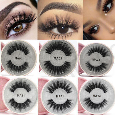 SKONHED Silk Fiber False Eyelashes Wispy Crisscross Flutter Fake Eye Lashes
