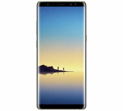 "Samsung Galaxy Note 8 Smartphone 6.3"" 64GB Android 7.1 Gold Unlocked Sim Free"