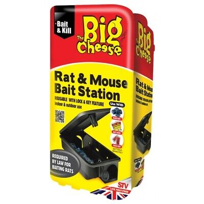 Rat & Mouse Bait Station By The Big Cheese