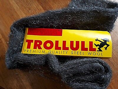Trollull Steel Wire Wool NEW Top Quality  VARIOUS Grades + lengths available