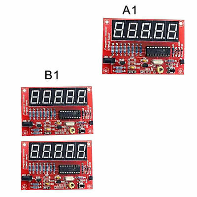 Digital LED 1Hz-50MHz Crystal Oscillator Frequency Counter Meter Tester Tool Red