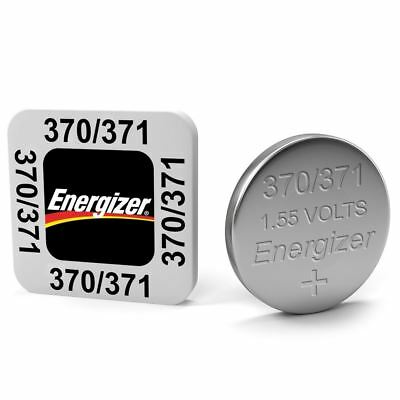 Energizer 370/371 1.55V Silver Oxide Coin Cell Batteries