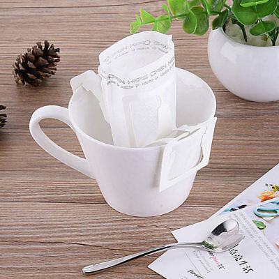 Pracitcal Drip Coffee Filter Bag Hanging Ear Paper Brew Coffee and Tea Tool Lot