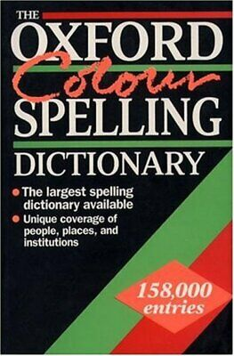 The Oxford colour spelling dictionary by Maurice Waite (Paperback / softback)